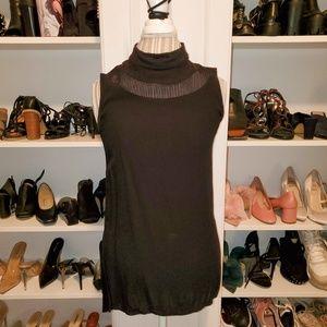 Zara High Neck Sleeveless Blouse